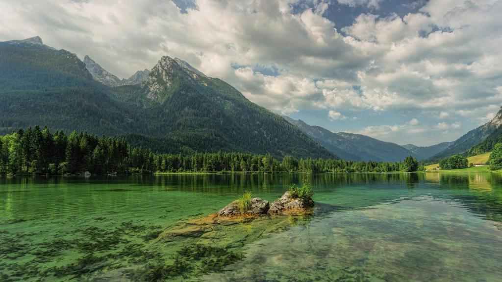 Nationaal Park Berchtesgaden - Hintersee - Duitsland