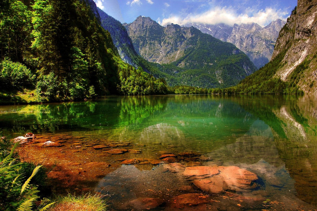 Konigssee - Nationaal Park Berchtesgaden