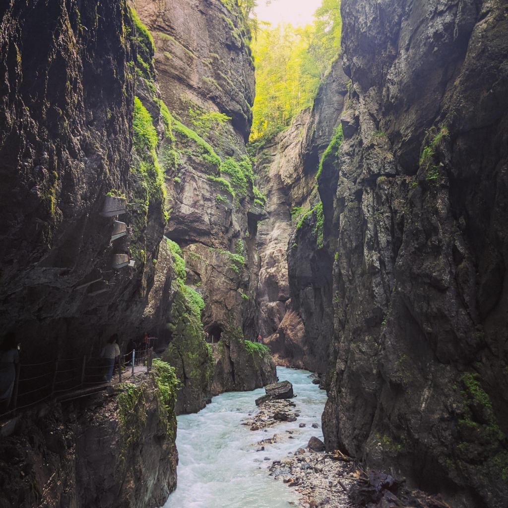 Partnachklamm - Duitse Alpen