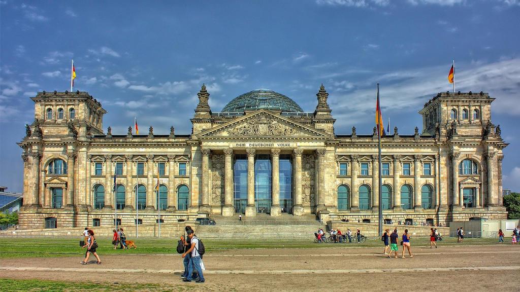 Berlijn - Rijksdaggebouw
