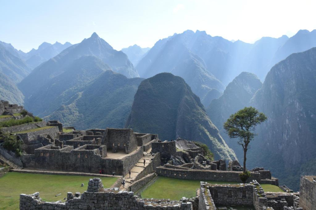 De Ruïnes van Machu Picchu (2)