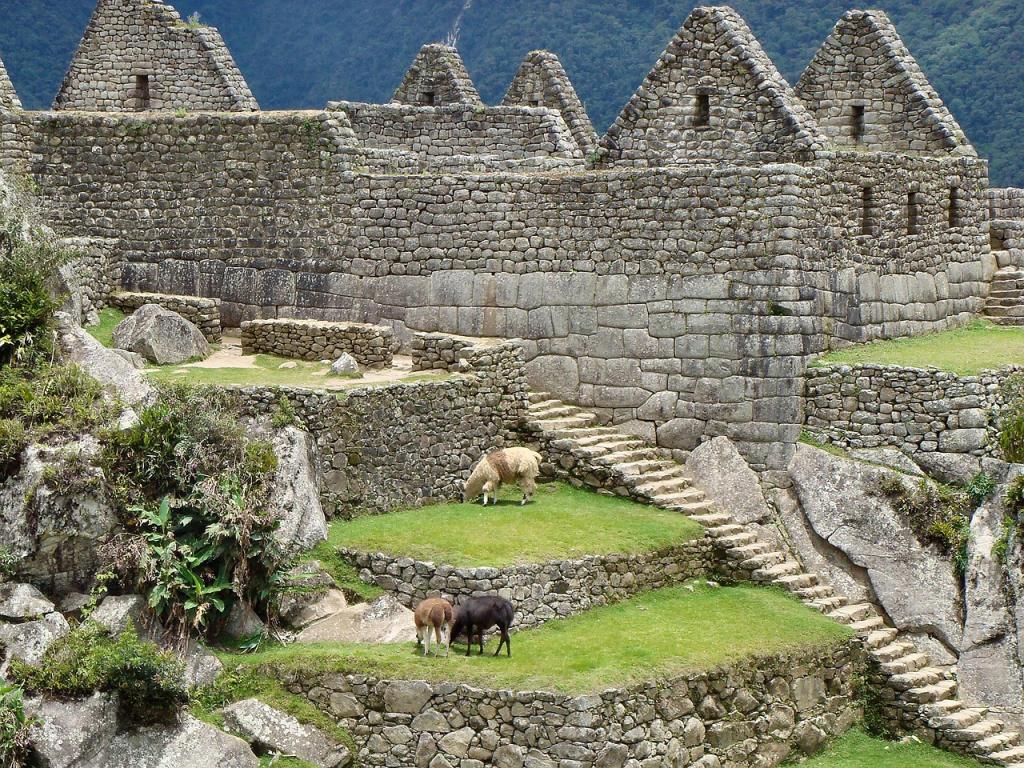 De Ruïnes van Machu Picchu