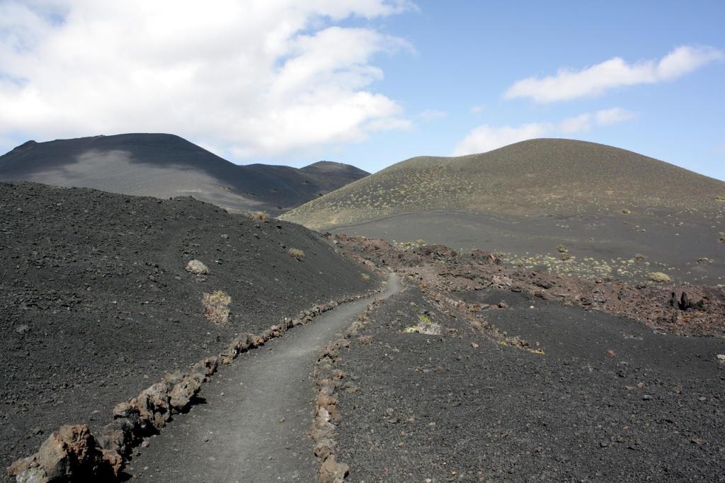 Vulkanisch Landschap - La Palma