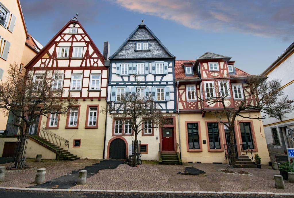 Vakwerkhuizen Aschaffenburg