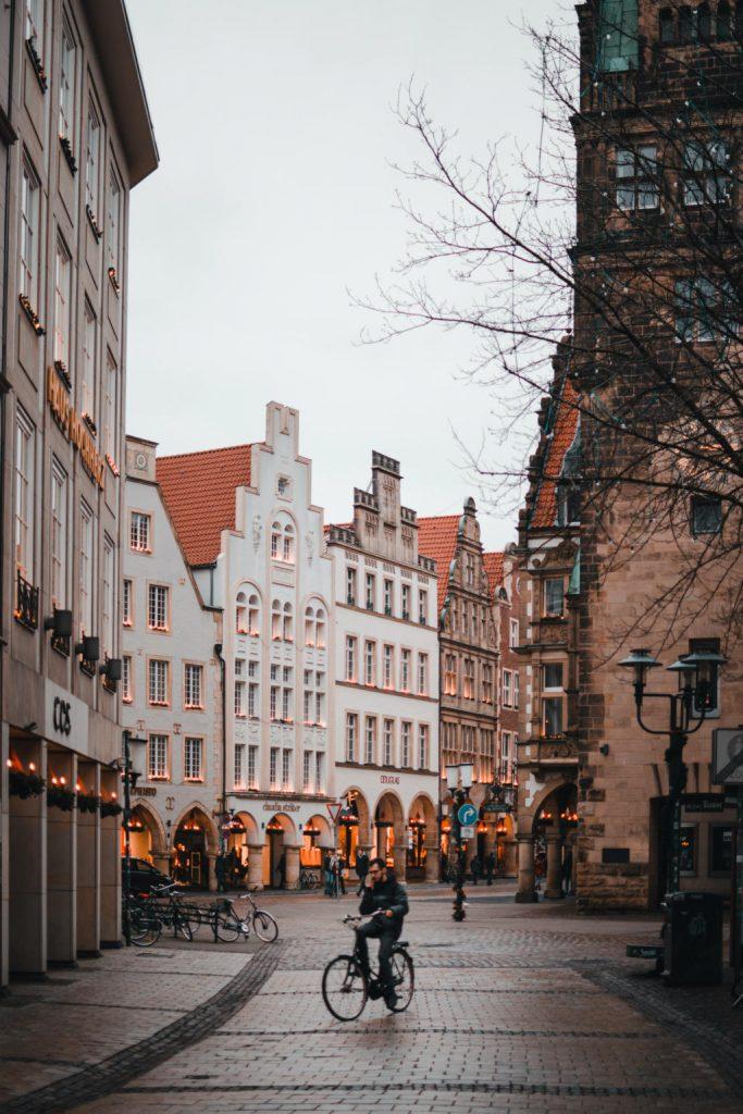Winkelstraat in Bonn